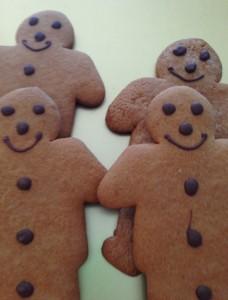 Freshly Baked Gingerbread Men